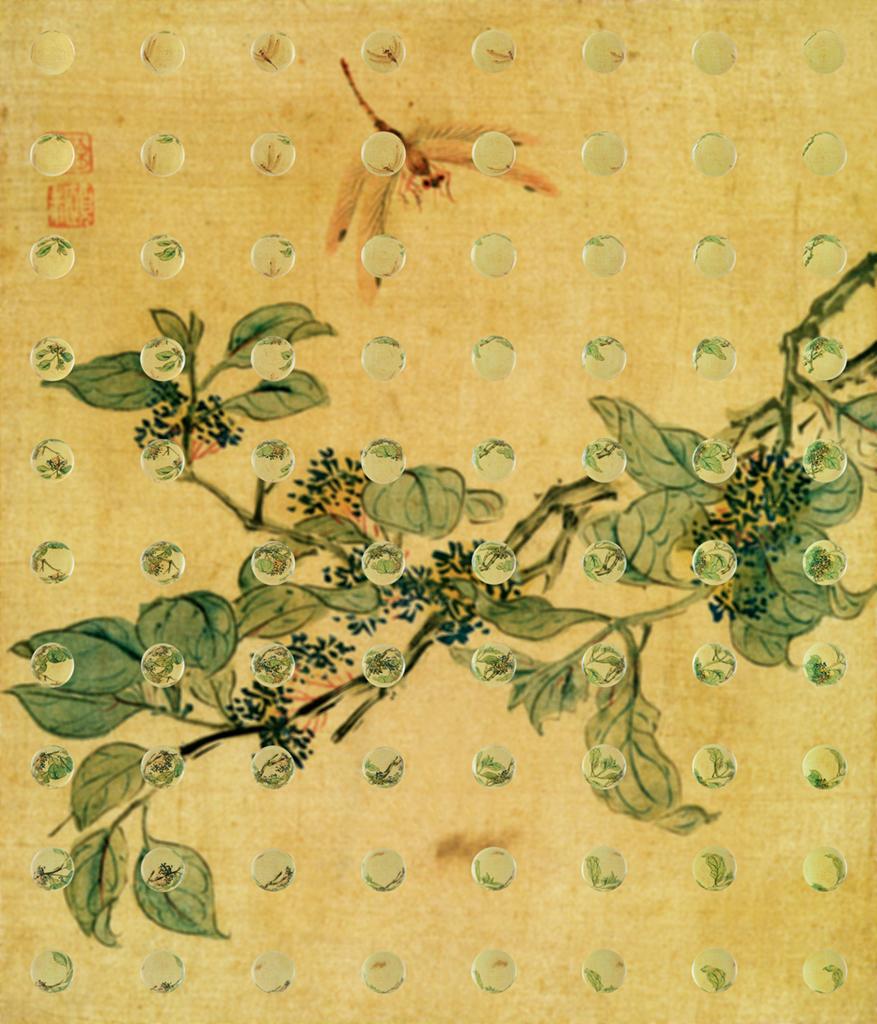 물방울, 초충도Waterdrop Chochungdo - 물방울, 초충도 #10, Pigment print, 120x103, 2011