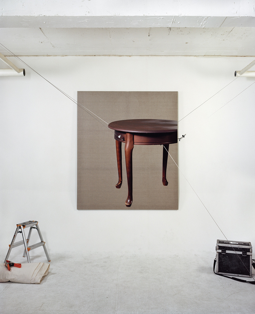 Compressed Reality - Table, 103x160cm, C-print, 2011